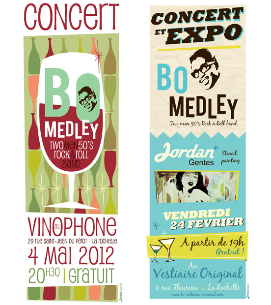 Affiches-concert-rock-n-roll-bo-medley-Jordan-Graphic
