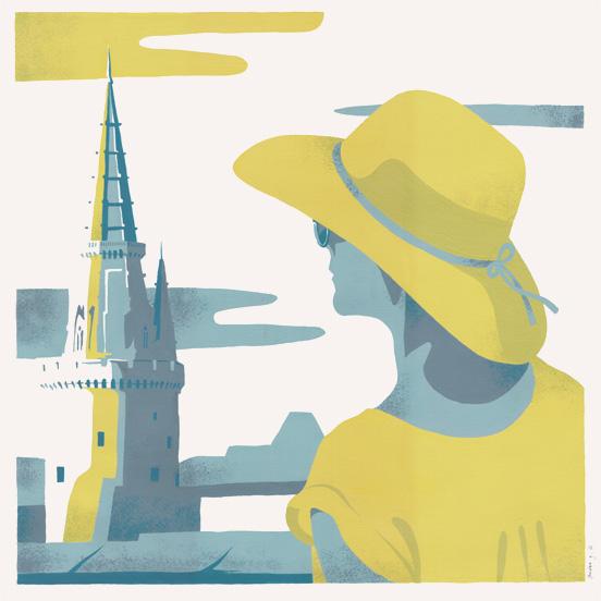 illustration-gouache-tour-lanterne-la-rochelle-jordan-gentes