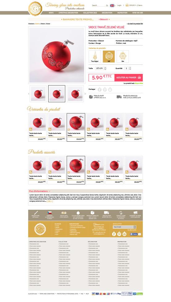 web-design-glassor-boules-de-noel-e-commerce-fiche-produit