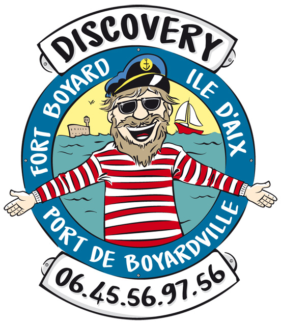 logo mascotte discovery voile