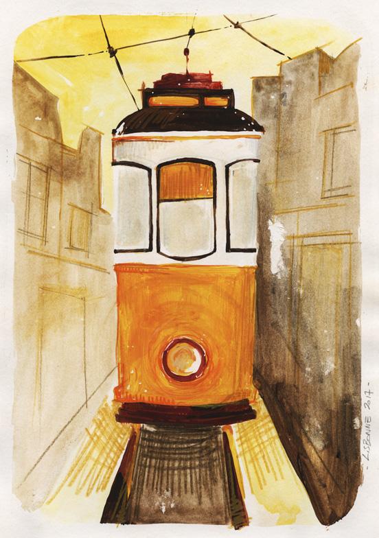 tramway electrico lisbonne