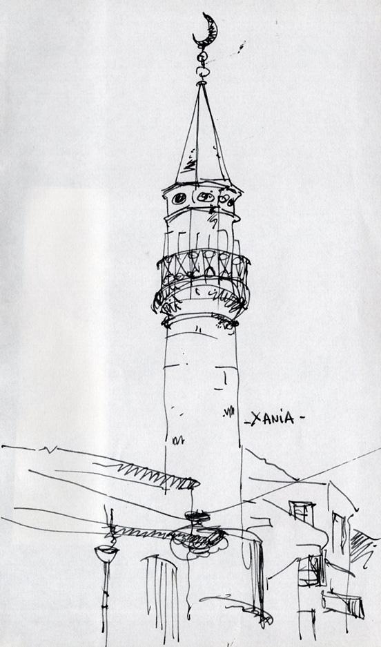 croquis-sketch-crete-jordan-gentes-chania-minaret
