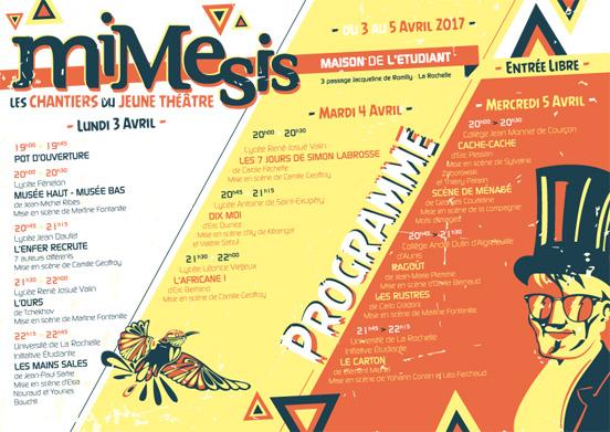 programme MIMESIS 2017 jordan gentes