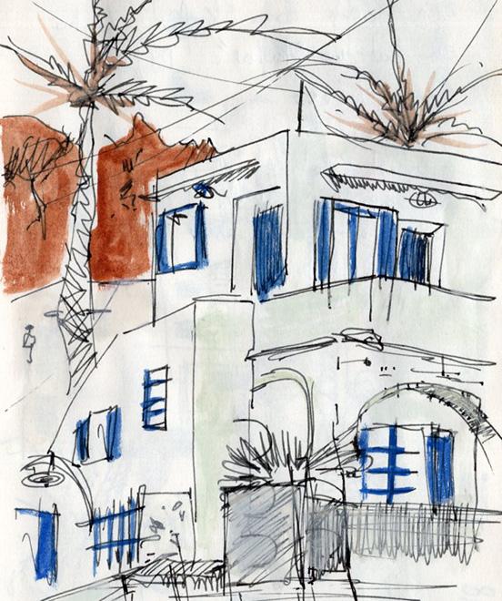 croquis-sketch-crete-jordan-gentes-loutro