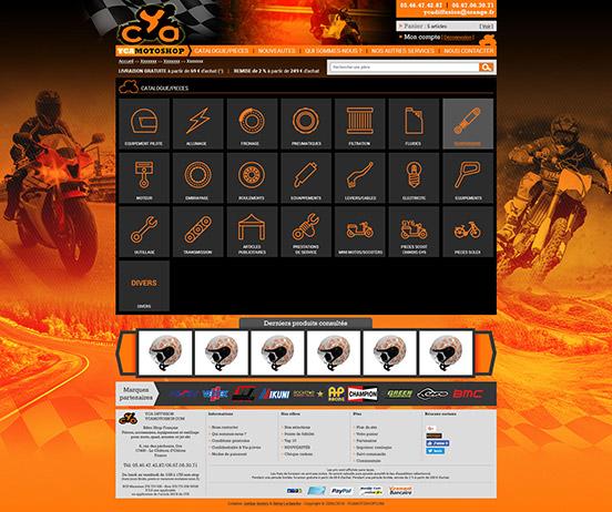 web-design-ecommerce-Yca-moto-shop