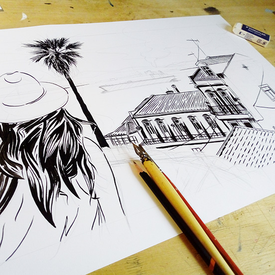 tejo-illustration-encre-gouache-jordan-gentes
