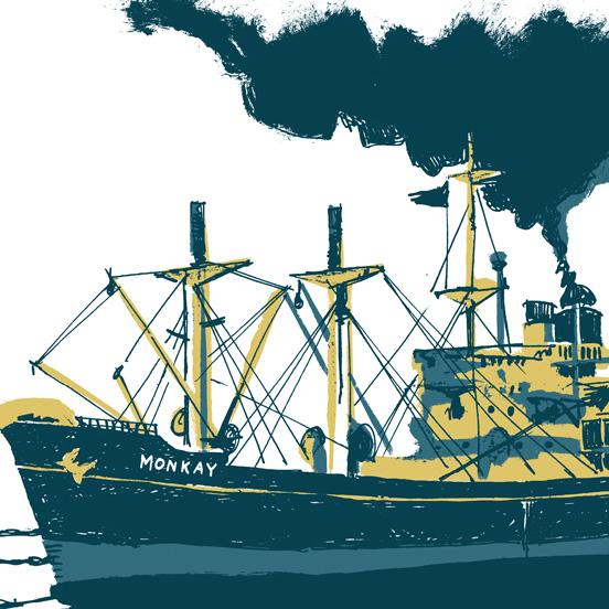 cargo-monkay-illustration-gouache-jordan-gentes
