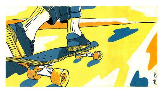 skateboard-illustration-gouache-jordan-gentes