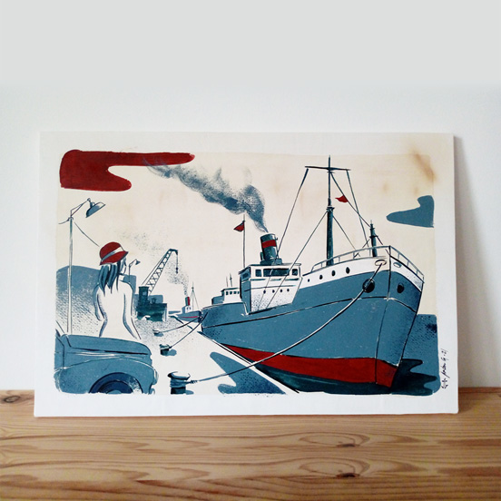 cargo-illustration-gouache-encre-jordan-gentes