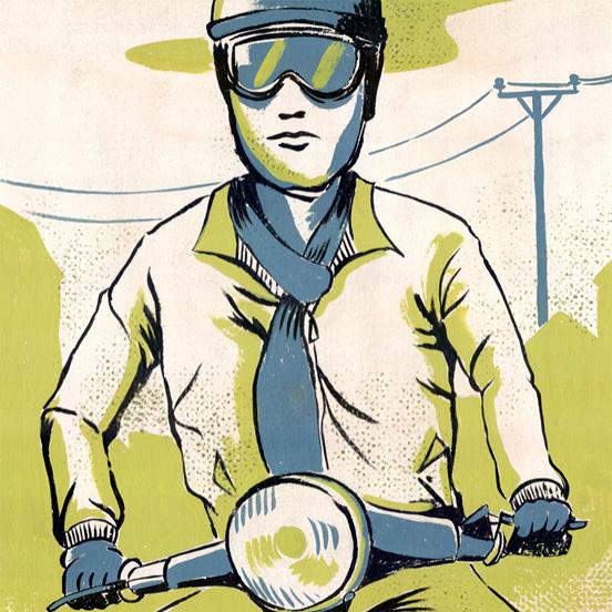 scooter-vespa-illustration-gouache-jordan-gentes